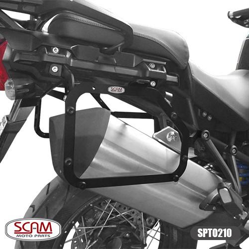 Scam Spto210 Suporte Baú Lateral Tiger1200 Explorer 2012+