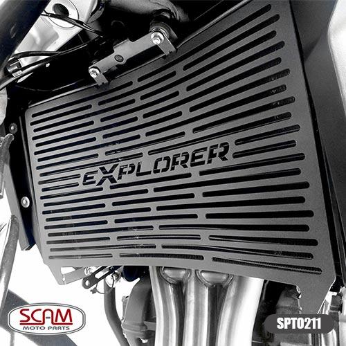 Scam Spto211 Protetor Radiador Tiger1200 Explorer 2012+