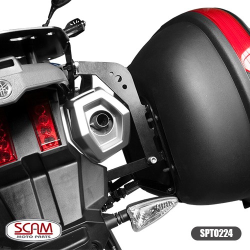 Scam Spto224 Suporte Baú Lateral Yamaha Tenere660 2011+