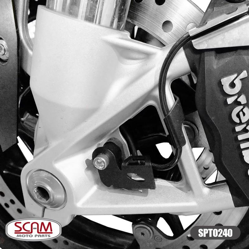 Scam Spto240 Protetor Sensor Abs Dianteiro R1200gs Adv 13+