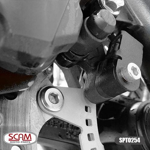 Scam Spto254 Protetor Sensor Abs Par Cb500x 2013-2017