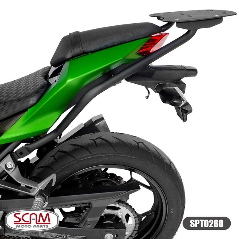 Scam Spto260 Suporte Baú Superior Kawasaki Z300 2015+