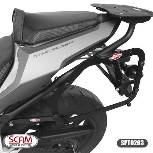 Scam Spto263 Suporte Baú Lateral Honda Cbr500r 2016+