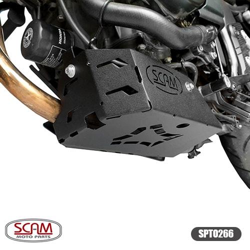 Scam Spto266 Protetor Carter Honda Cb500x 2018+