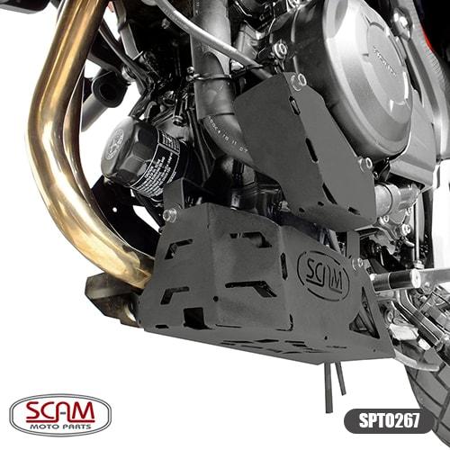 Scam Spto267 Protetor Carter Honda Cb500x 2013-2017
