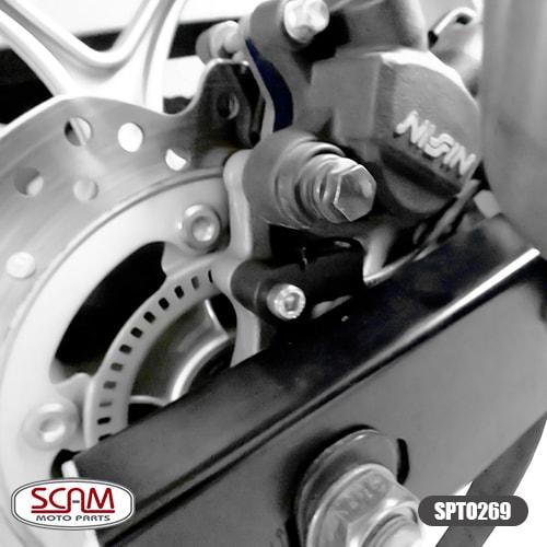 Scam Spto269 Protetor Sensor Abs Par Honda Nc750x 2016+