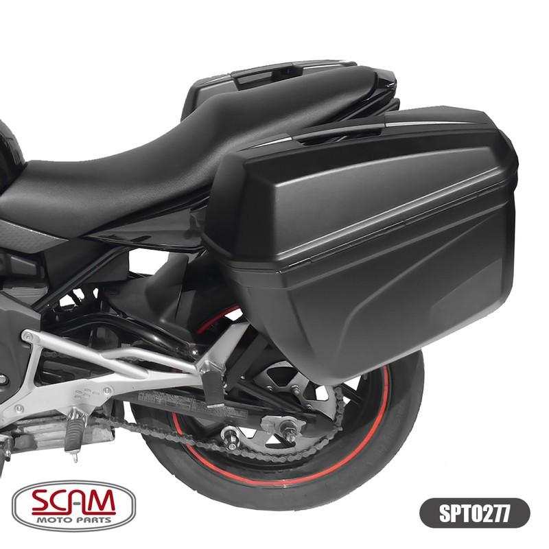 Scam Spto277 Suporte Baú Lateral Kawasaki Er6n 2009-2012