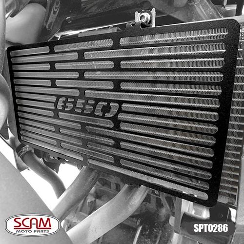 Scam Spto286 Protetor Radiador Kawasaki Versys650 2010-2014