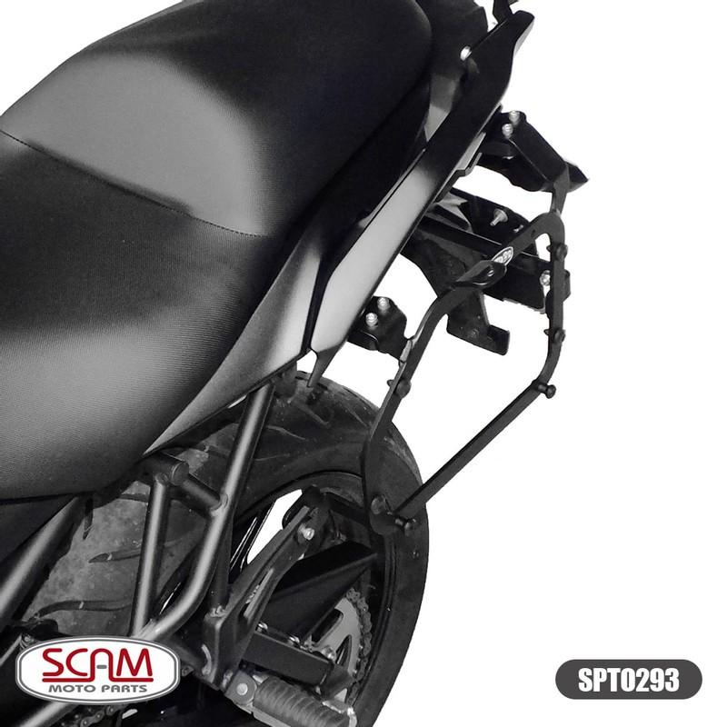 Scam Spto293 Suporte Baú Lateral Kawasaki Versys650 2015+