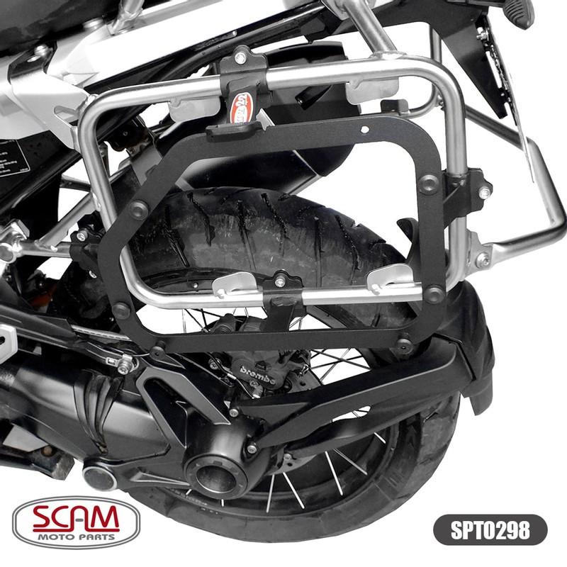 Scam Spto298 Suporte Baú Lateral Bmw R1200gs Adventure 2013+