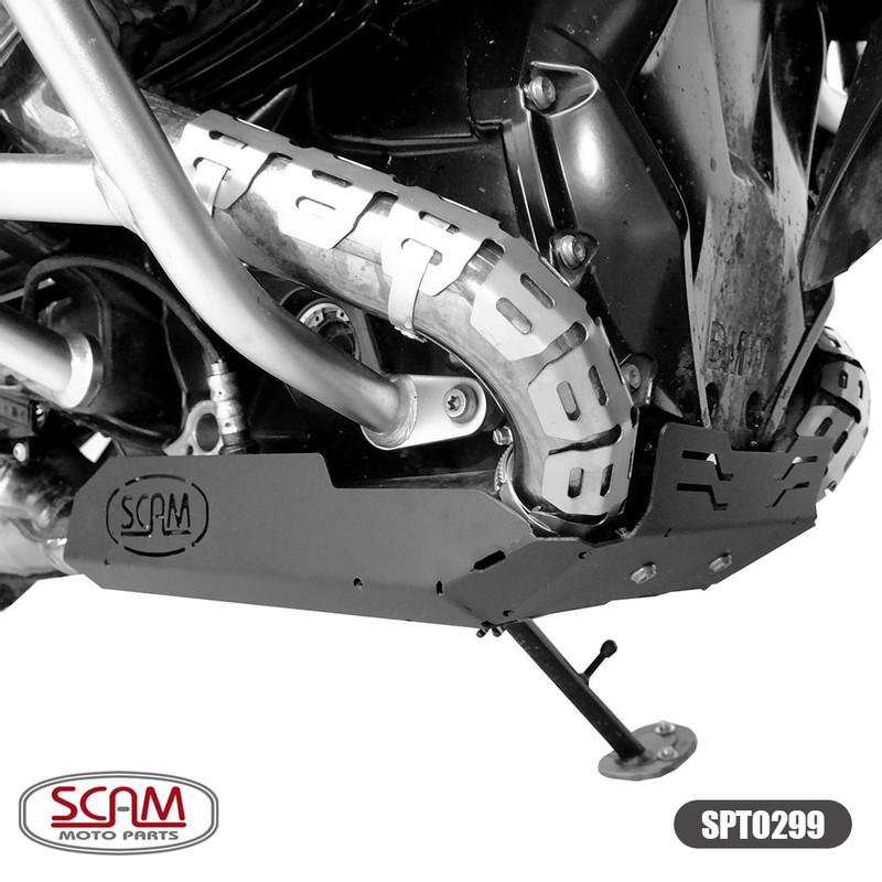 Scam Spto299 Protetor Carter Bmw R1200gs Adventure 2013+