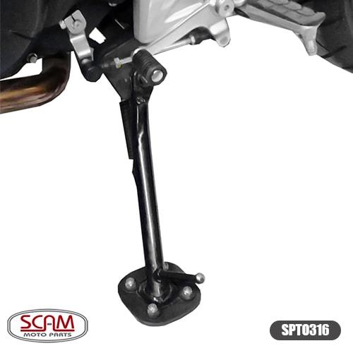 Scam Spto316 Ampliador Base/apoio Honda Nc750x 2015+