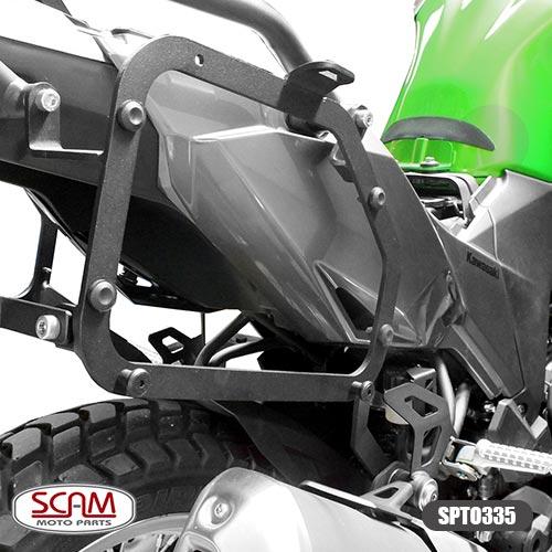 Scam Spto335 Suporte Baú Lateral Kawasaki Versys-x300 2018+