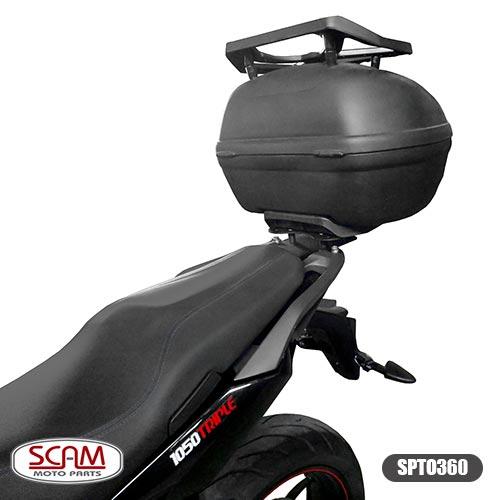 Scam Spto360 Suporte Baú Superior Tiger1050 Sport 2014+