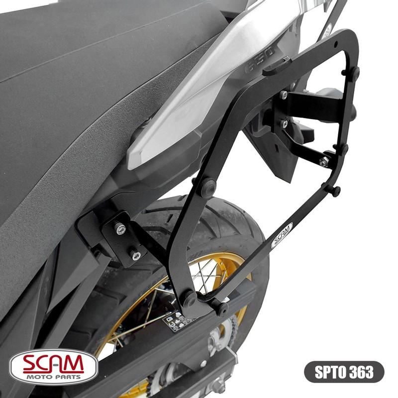 Scam Spto363 Suporte Baú Lateral Suzuki V-strom650 2019+