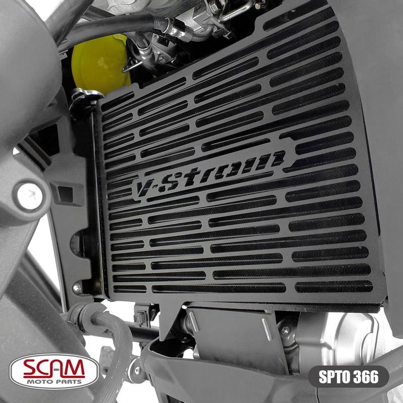Scam Spto366 Protetor Radiador Suzuki V-strom650 2019+