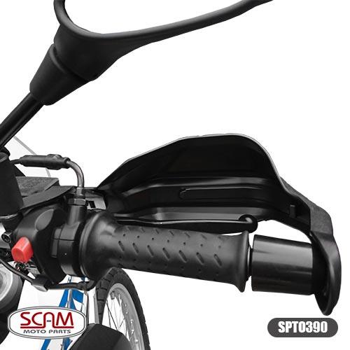 Scam Spto390 Protetor De Mao Honda Bmw G650gs 2009+