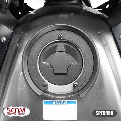 Scam Spto450 Suporte De Bolsa Tanque Versys 650 2015+