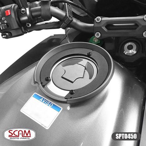 Scam Spto450 Suporte De Bolsa Tanque Versys 650 Tourer 2015+