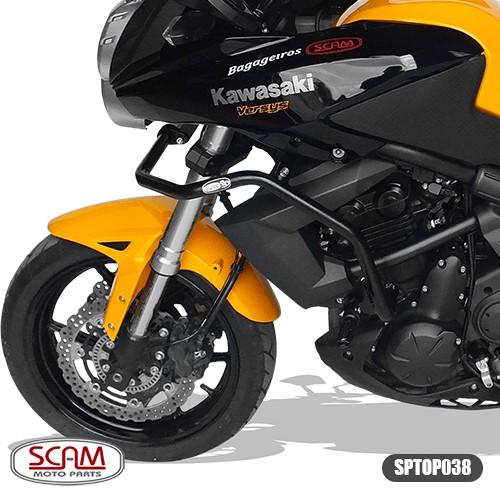 Scam Sptop038 Protetor Motor Carenagem Versys650 2010-2014