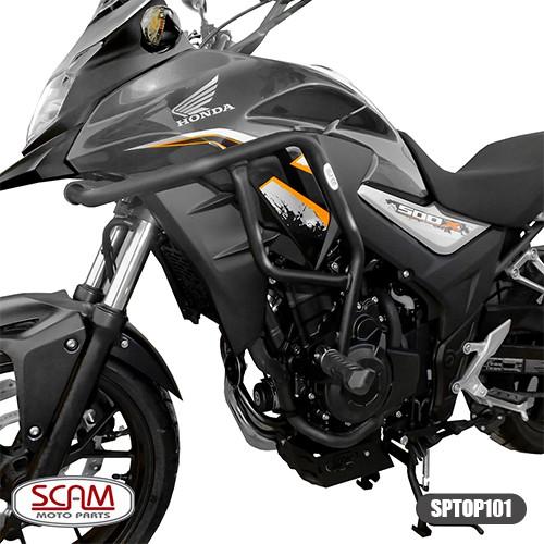 Scam Sptop101 Protetor Motor Carenagem Honda Cb500x 2013+