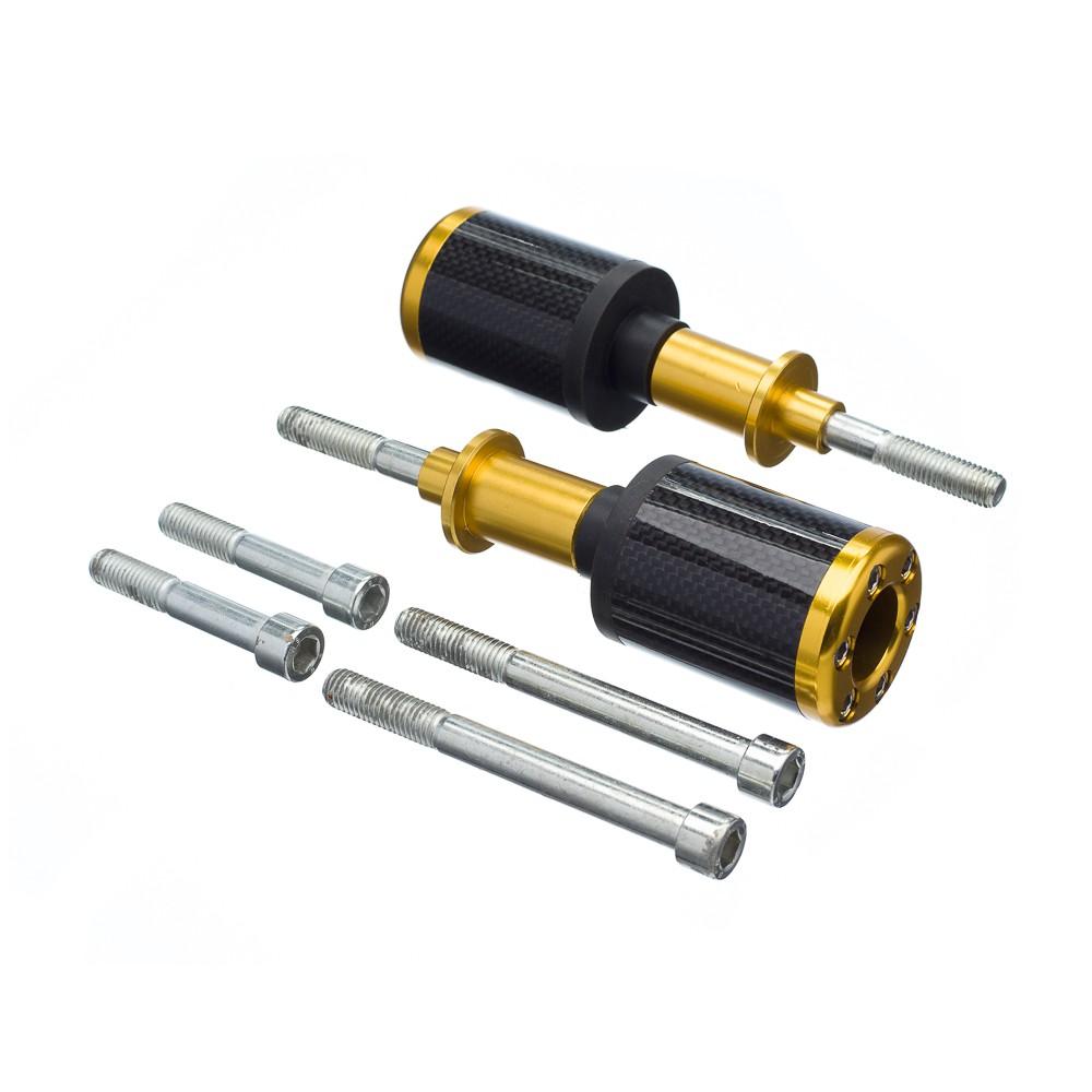 Slider Universal Bering Batente (par) Carbon Aluminio Dourad
