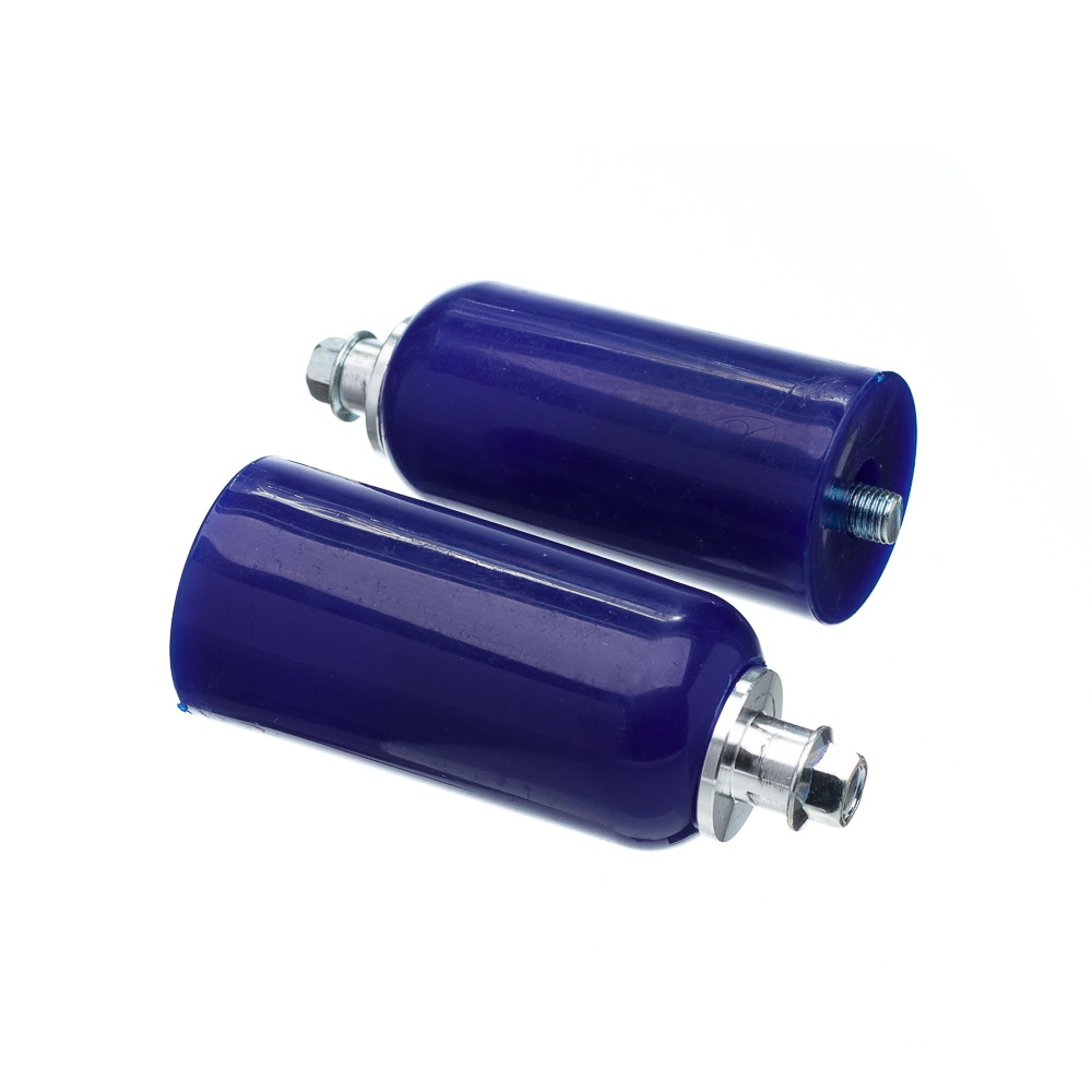 Slider Universal Bering Batente (par) Unicolor Plastic Azul