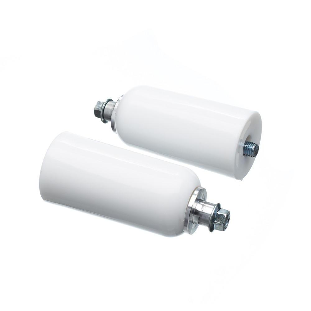 Slider Universal Bering Batente (par) Unicolor Plastic Branc