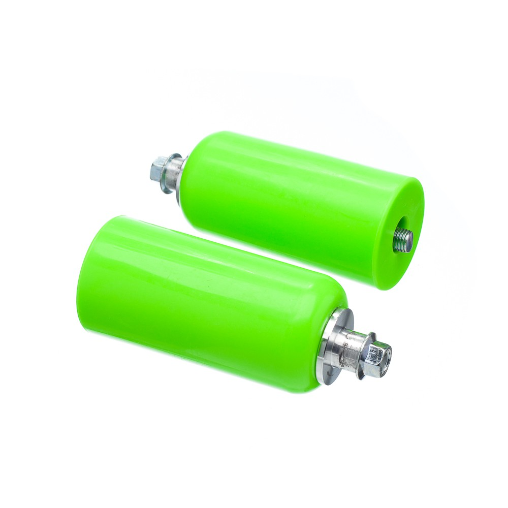 Slider Universal Bering Batente (par) Unicolor Plastic Verde