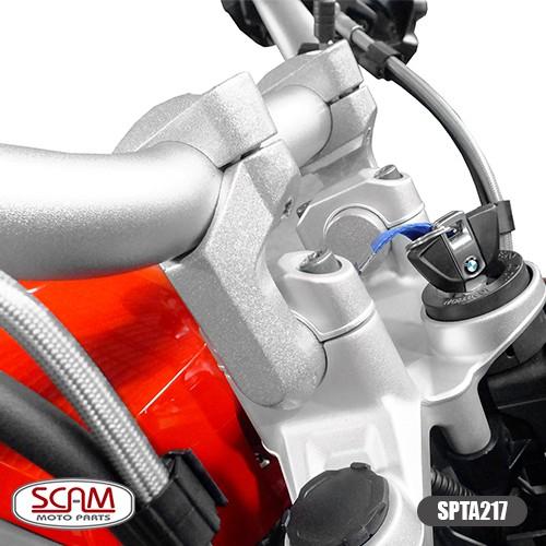 Spta217 Scam Riser Adaptador Guidao R1200gs 2013+ Prata