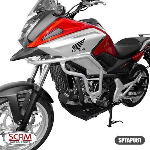 Sptap061 Protetor Motor Carenagem Prata Nc700x Nc750x 2013+
