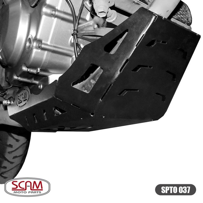 Spto037 Scam Protetor Carter Suzuki V-strom650 2002+