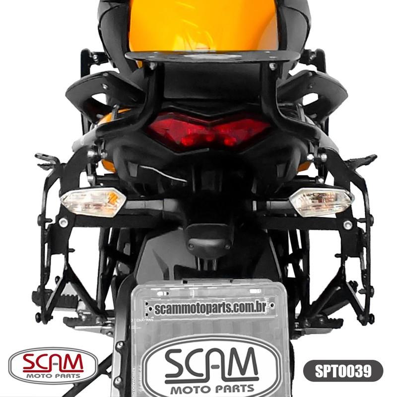 Spto039 Scam Suporte Baú Lateral Versys650 2010-2014