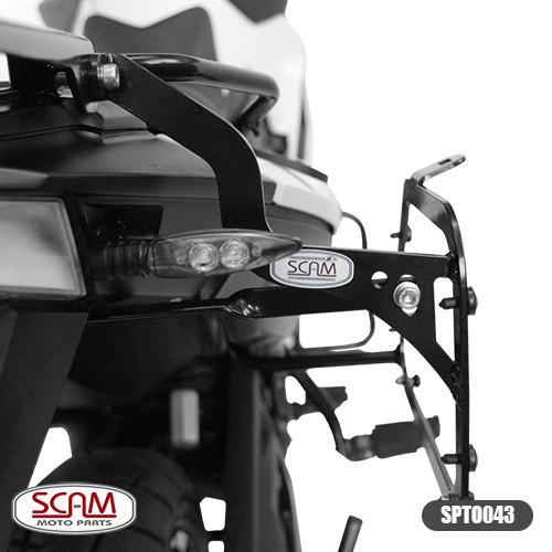 Spto043 Scam Suporte Baú Lateral Bmw F800gs 2008+