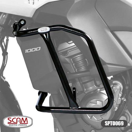 Spto069 Scam Protetor Motor Carenagem Versys1000 2012-2014