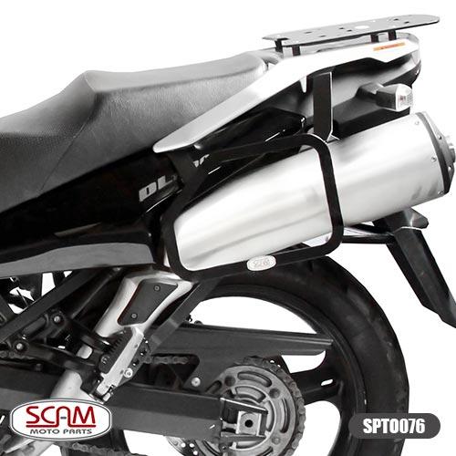 Spto076 Scam Afastador Alforge Suzuki V-strom1000 2002-2013