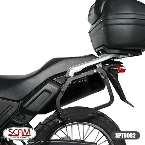 Spto082 Scam Suporte Baú Lateral Yamaha Tenere250 2011-2015