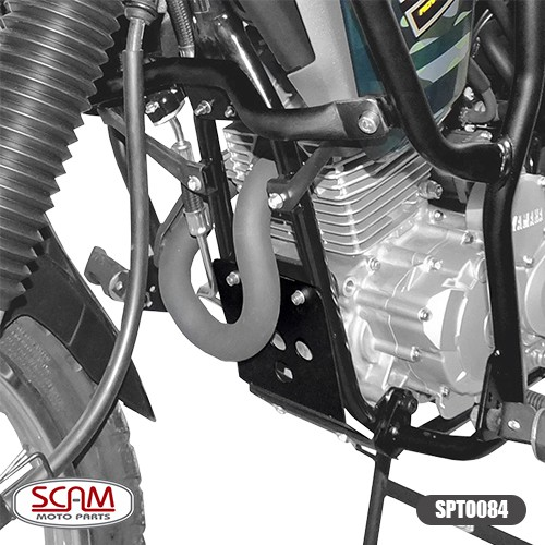 Spto084 Scam Protetor Carter Yamaha Tenere250 2011+