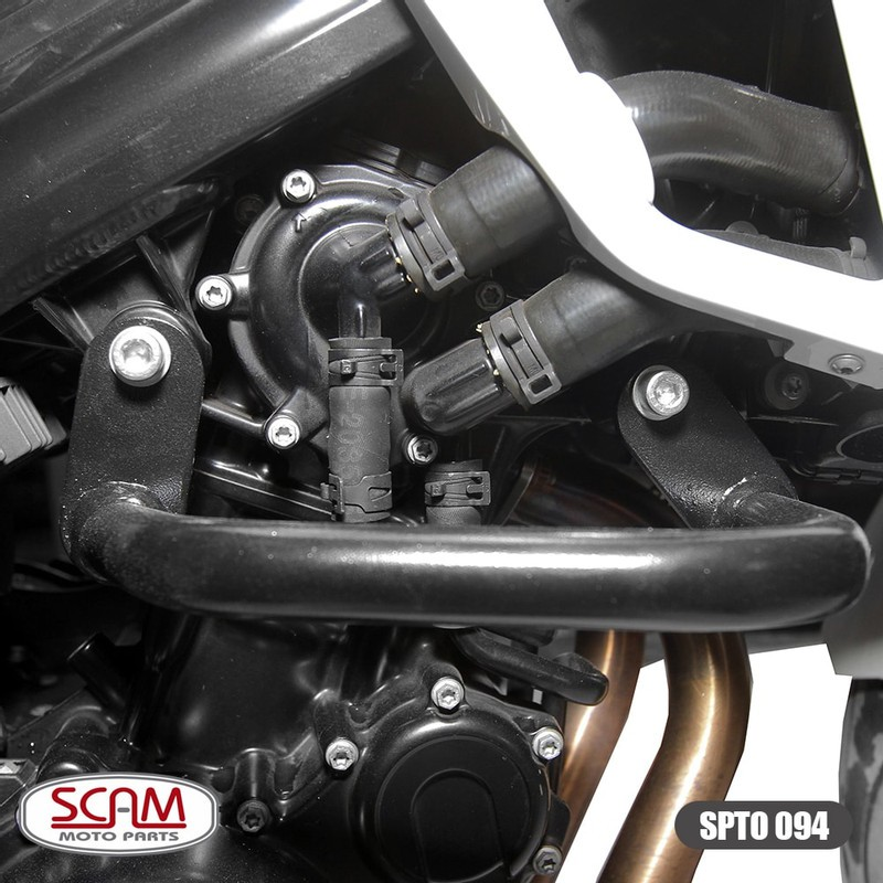Spto094 Scam Protetor Motor Carenagem Mod. Alça F800r 2010+