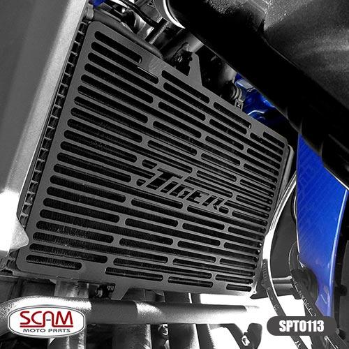 Spto113 Scam Protetor Radiador Triumph Tiger800 2012-2014