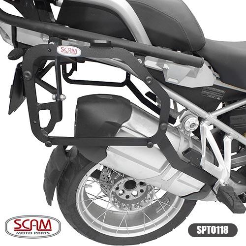 Spto118 Scam Suporte Baú Lateral Bmw R1200gs 2013+
