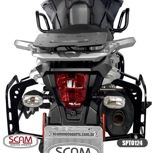 Spto124 Scam Afastador Alforge Tiger1200 Explorer 2012-2015