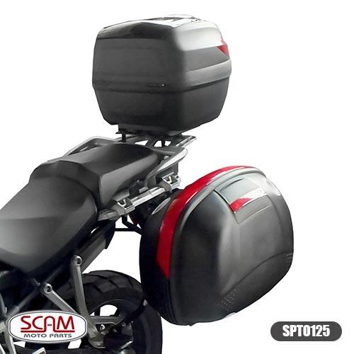 Spto125 Scam Suporte Baú Superior Tiger1200 Explorer 2012+