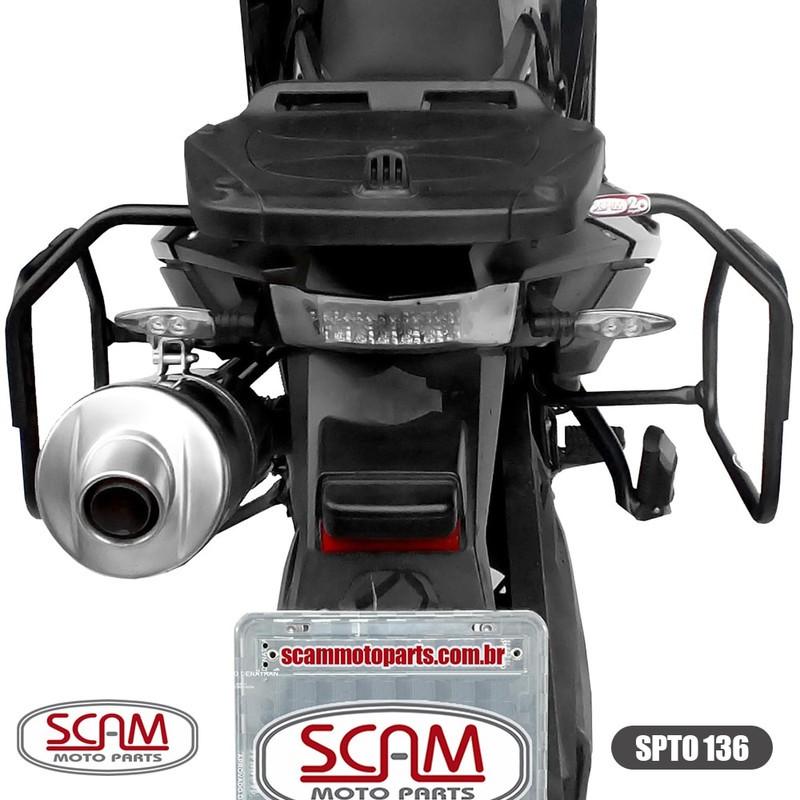 Spto136 Scam Afastador Alforge Bmw F800gs 2008+