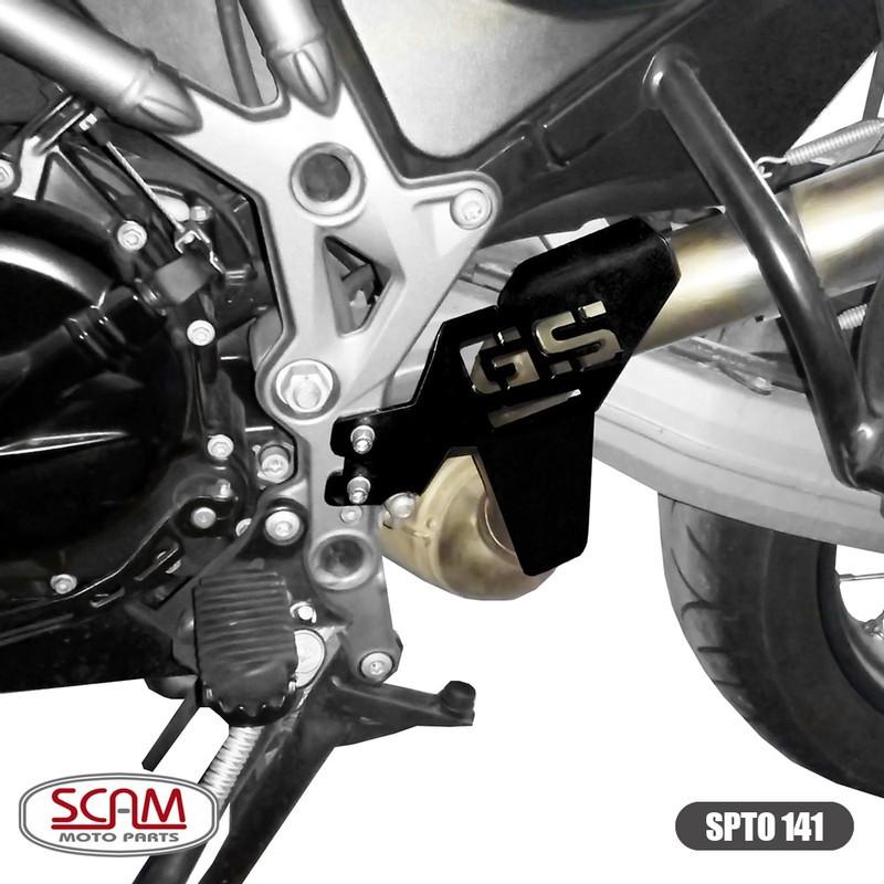 Spto141 Scam Protetor Escapamento Bmw F800gs 2008+