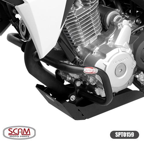 Spto159 Protetor Motor Cb Twister 250 2016+ Scam