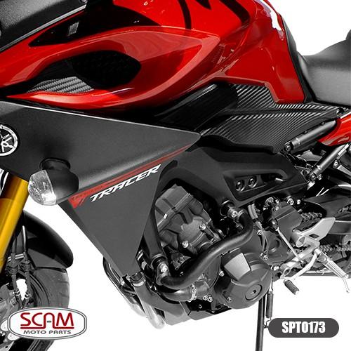 Spto173 Scam Protetor Motor Carenagem Mod. Alça Mt09 2015+