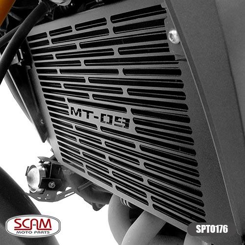 Spto176 Scam Protetor Radiador Yamaha Mt09 2015+