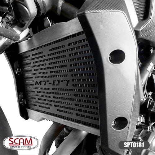 Spto181 Scam Protetor Radiador Yamaha Mt07 2015+