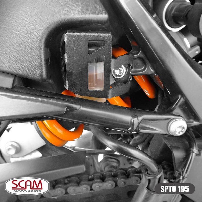 Spto195 Scam Protetor Reserv. Fluido Freio Bmw G650gs 2009+